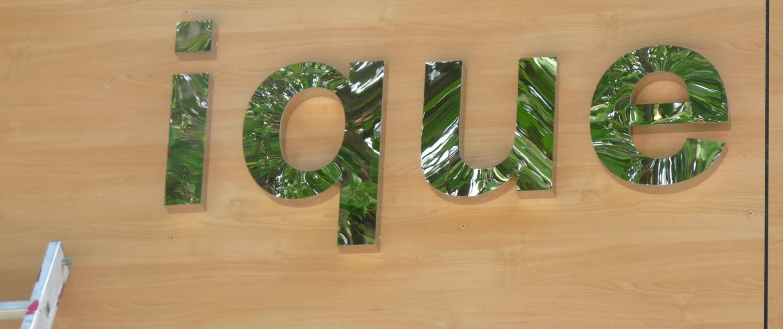 lettre inox adhésif végétal