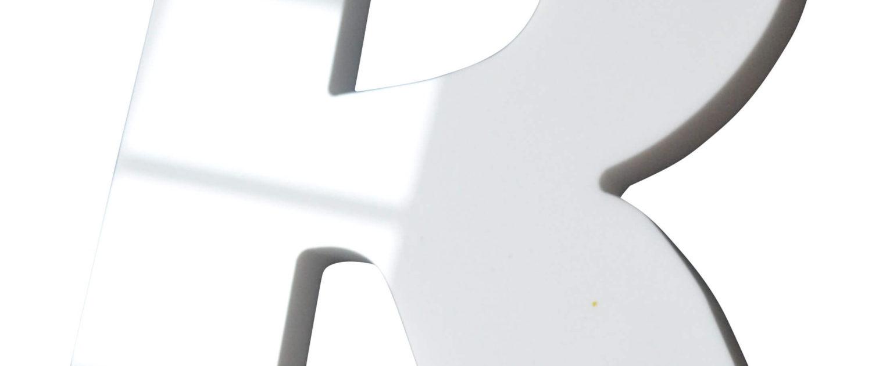 lettre plexiglas