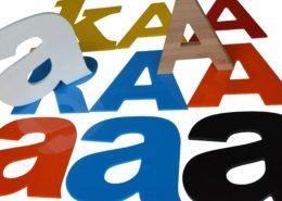 lettre bois lettre plexiglas