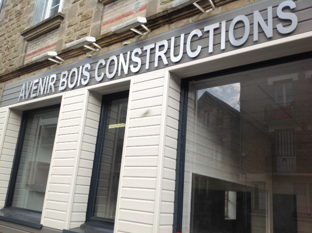 enseigne entreprise construction